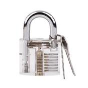 2017Koop 1 Set Transparante Pick Cutaway Zichtbaar Inside View Hangslot Lock Voor Slotenmaker Gereedschap Praktijk Training Vaardigheid