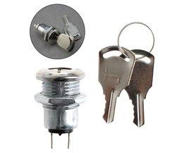 Sleutelschakelaar AAN/UIT Lock KS-02 KS02 Elektronische Met Sleutels