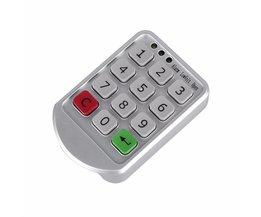 Intelligente Digitale Elektronische Wachtwoord Toetsenbord Aantal Kastdeur Code Lock Zinklegering en Plastic Intelligente Kast Lock