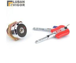 Super security Veilig slot, antidiefstalvergrendeling, Elektronische kluis key/lock, Niet kopiëren, Koperen cilinder