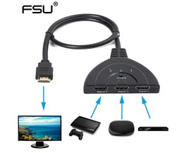 HDMI Switch splitter 3 in naar 1 uit