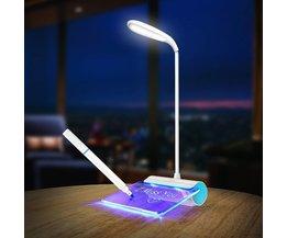 LED Bureaulamp Dimbaar met Memobord