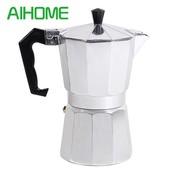 Percolator om koffie te zetten