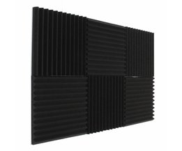 Acoustic Foam 6 stuks