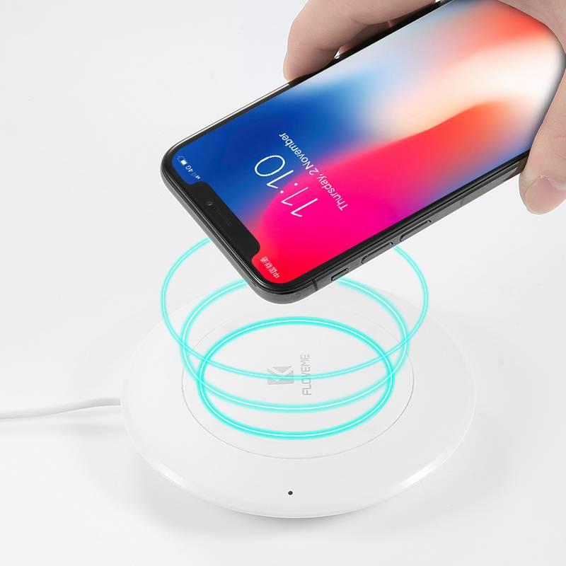 Dagaanbieding - QI Draadloze Oplader Smartphones dagelijkse koopjes