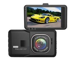 1080P Dashcam met Nacht Visie en Motion Detection