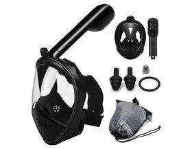 Duikmasker voor duiksport met ruimvizier