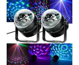 Discolamp met Afstandsbediening RGB LED Kleuren
