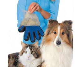 Borstelhandschoen Huisdieren