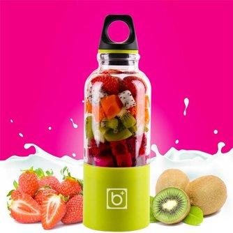 500 ml Draagbare Elektrische Juicer Cup USB Oplaadbare Groenten Vruchtensap Maker Fles Sapcentrifuge Blender Mixer