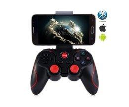 Gen Game S3 Draadloze 3.0 Bluetooth Gamepad Afstandsbediening Joystick PC Game Controller voor Smartphone/Tablet  GEN GAME