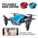 S9 S9W S9HW Opvouwbare RC Mini Drone Pocket Drone Micro Drone RC Helicopter Met HD Camera Hoogte Houden Wifi FPV FSWB Pocket Dron