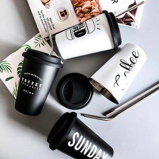 Rvs Koffiebeker