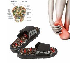 Voet Massage Slippers Acupunctuur Therapie Stimulator Schoenen Voor Voet Acupunt Activeren Reflexologie Voeten Zorg Massageador Sandaal
