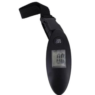 Hoomall 100g/40 kg Digitale Weegschaal Bagage Schaal LCD DisplayDraagbare Mini Elektronische Pocket Travel Handheld Gewicht balans