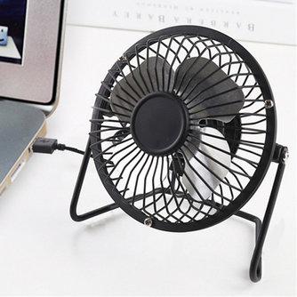 Draagbare Mini USB Ventilator Tafel Bureau Fans Persoonlijke Super Mute Stille Kleurrijke Cooling Fans voor PC Notebook Laptop USB Gadgets