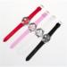 Relogio Feminino LuxoDames Horloge Met Kristallen Klokken Vrouwen Luxe Quartz Met Lederen Mickey Mouse Kad N Saatleri3 #