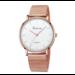 Moderne Mode Zwart Quartz Horloge Mannen Vrouwen Mesh Rvs HorlogebandCasual Horlogevoor Vrouwelijke
