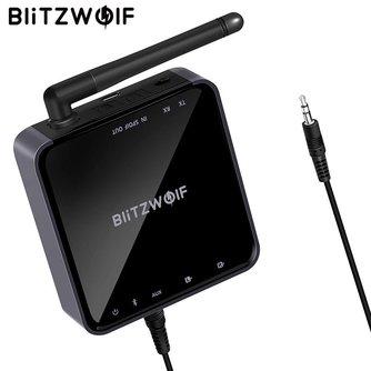Blitzwolf Draadloze Bluetooth Ontvanger 2 in 1
