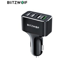 Blitzwolf 4 USB-Poorten Autolader