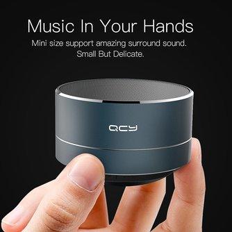 QCY Draadloze Speaker Mini met Mic Ondersteuning
