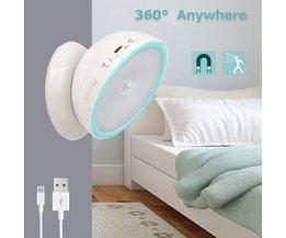 USB Oplaadbaar Nachtlampje (360 Graden Draaibaar)