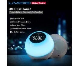 Nachtlampje met Bluetooth 5.0 Speaker Alarm