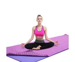 Katoenen Yoga Mat met Antislip (183x63cm)