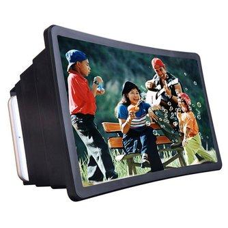 Mobiele Telefoon Video Screen Vergrootglas Versterker Expander Standhouder voor 3D Movie Display Telefoon Screen Vergrootglas voor Smart Telefoon
