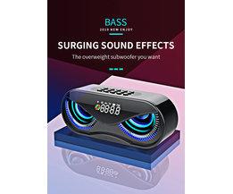 Bluetooth Speaker met Led Lichten
