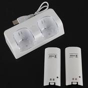 Oplader voor Wii Controller inc. Oplaadbare Batterijen