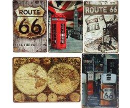 Vintage Decoratie Borden voor Thuis of Horeca