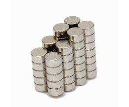 Neodymium Magneet Rond 50 Stuks
