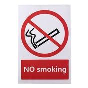 Niet Roken Sticker 100x150 mm