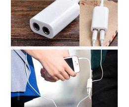 3,5mm Splitter voor Oortjes 1 naar 2 Uitgangen voor Smartphone