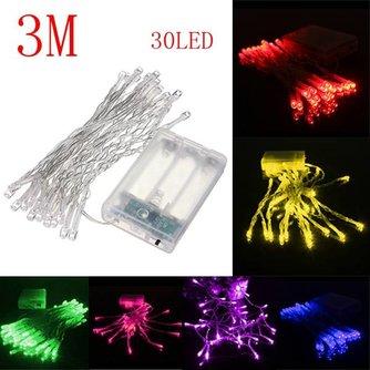 LED Feestverlichting 3 meter op Batterijen
