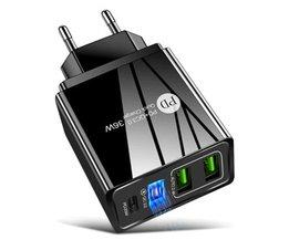 36W Smartphone Snellader