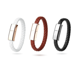 Fashionable Oplader en Armband – USB Type C