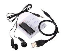 Dictafoon Met MP3-Speler