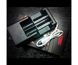 Batterijoplader USB Voor AA-batterijen