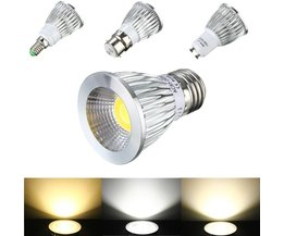 6W COB LED Dimbaar Spotlight