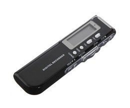 Digitale USB Spraakrecorder 8GB