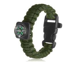 Kompas Paracord Armbanden