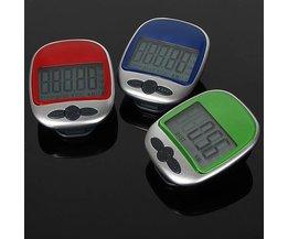 Digitale Pedometer met LCD Scherm