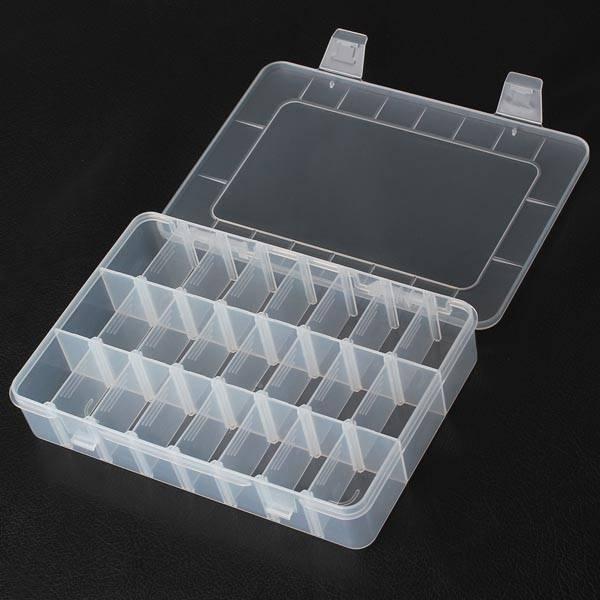 Bak Met Vakjes.Plastic Vakjesdoos Met 24 Vakjes I Myxlshop Supertip
