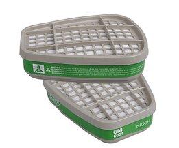 Doos Voor Gasmasker Filters Van Katoen