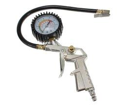 Spuitstuk voor Compressors met Drukmeter
