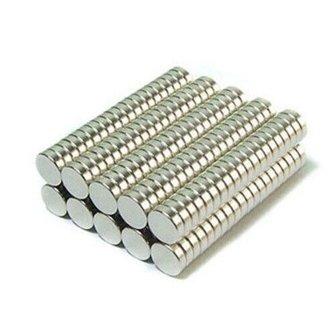 Ronde Magneet Neodymium (50 stuks)
