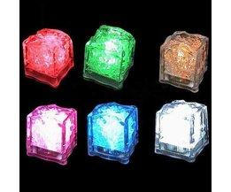 Sfeervolle Lichtgevende Ijsblokjes