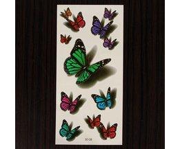 Neptatoeage Vlinder